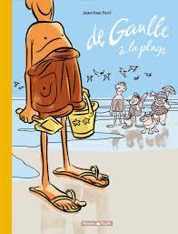 """Couverture BD """"de Gaulle à la plage"""""""