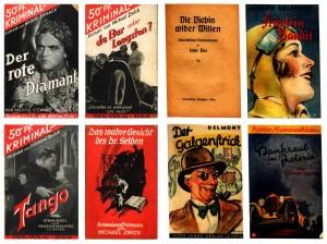 Couvertures livres policiers