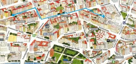 Plan d'accès Nouvelle Zadig