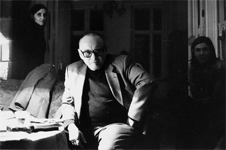 Ernst Jandl © Helga Paris, 1982